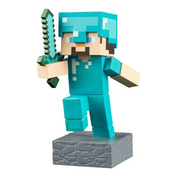 Figurita Minecraft - Diamond Steve Adventure