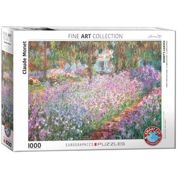 Puzzle Monet's Garden by Claude Monet