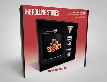 Petaca: Set de regalo The Rolling Stones - Tongue