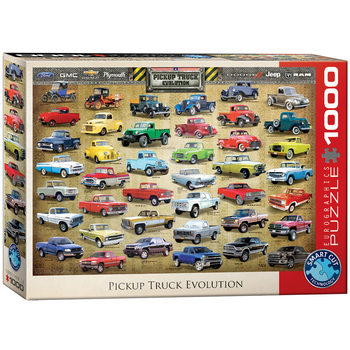 Puzzle Pickup Truck Evolution