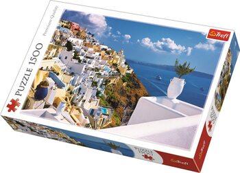 Puzzle Santorini, Greece