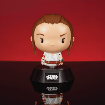 Figurita brillante Star Wars - Rey