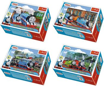 Puzzle Thomas & Friends 4in1