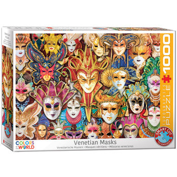 Puzzle Venice Carnival Masks