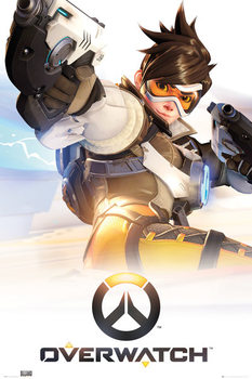 Overwatch - Tracer - плакат (poster)