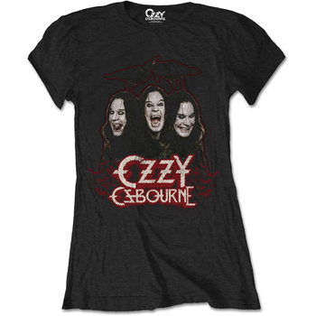 T-Shirt  Ozzy Osbourne - Crows & Bars Ladies