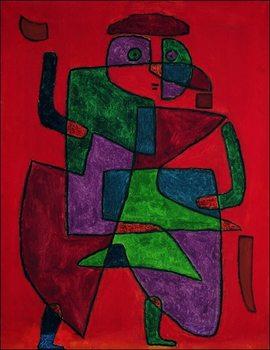 P.Klee - Der Kunftige Festmény reprodukció