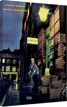 David Bowie - Ziggy Stardust På lærred