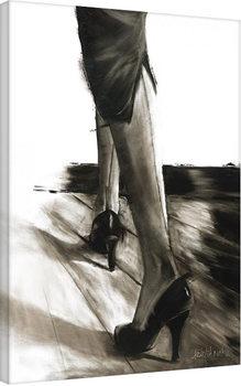 Janel Eleftherakis - Little Black Dress IV På lærred
