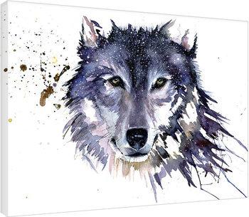 Sarah Stokes - Snow Wolf På lærred