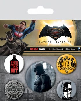 Paket značaka  Batman v Superman: Dawn of Justice - Batman