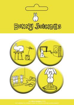 Paket značaka BUNNY SUICIDES - dawn of