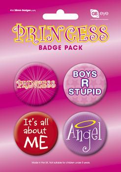Paket značaka PRINCESS