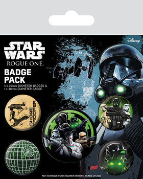 Paket značaka Rogue One: Star Wars Story - Empire