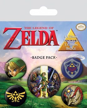 Paket značaka The Legend Of Zelda