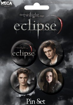 Paket značaka TWILIGHT ECLIPSE