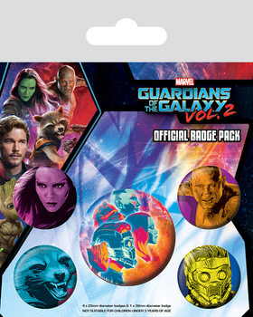 Paket značk  Guardians of the Galaxy Vol. 2 - Cosmic