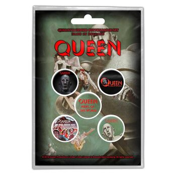 Paket značk Queen - News of the World