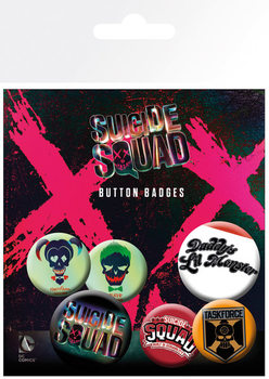 Paket značk Suicide Squad - Lil Monster