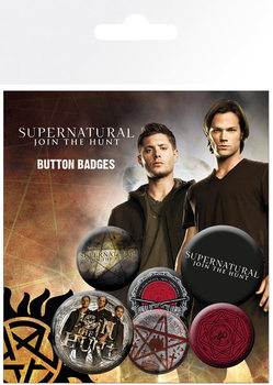 Paket značk Supernatural - Saving People