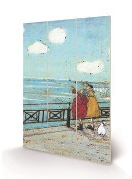 Sam Toft - Her Favourite Cloud Panneau en bois