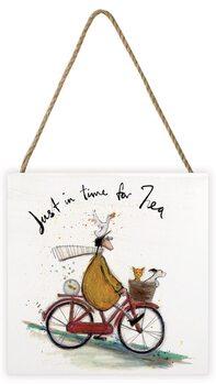 Sam Toft - Just in Time for Tea Panneau en bois