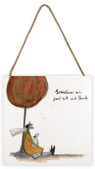 Sam Toft - Sometimes We Just Sit and Think Panneau en bois