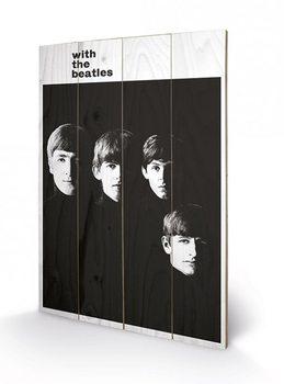 The Beatles - With The Beatles Panneau en bois