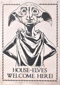 Panneau métallique Harry Potter - Dobby