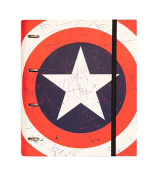 Material escolar Captain America - Shield
