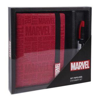 Material escolar Marvel