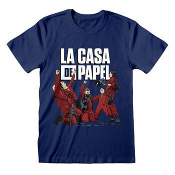 T-skjorte Papirhuset (La Casa De Papel) - Celebrating