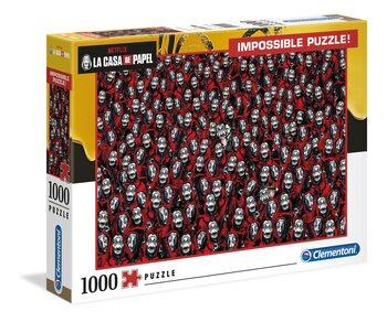 Puzzle Papirhuset (La Casa De Papel) - Impossible