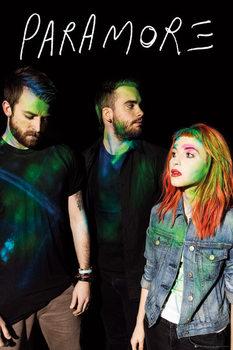 Paramore - album - плакат (poster)