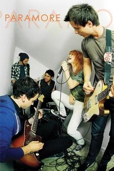Paramore - live - плакат (poster)