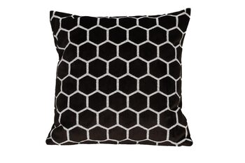 Párna Párna Honeycomb - Brown