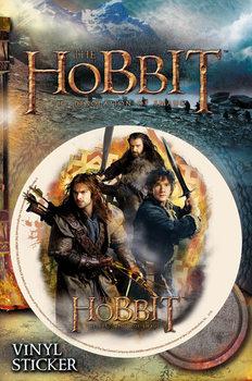 El hobbit - Trio pegatina