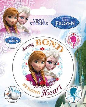 Frozen, el reino del hielo pegatina