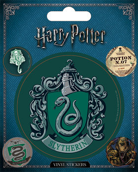 Harry Potter - Slytherin pegatina