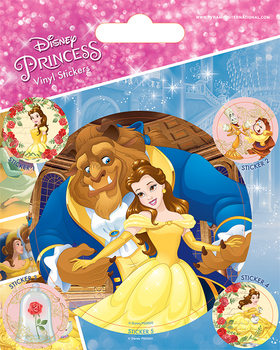 La bella y la bestia - Beauty and the Beast - Tale As Old As Time pegatina