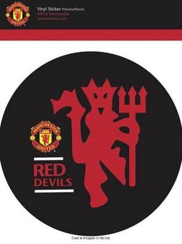 Pegatina MAN UNITED - red devils