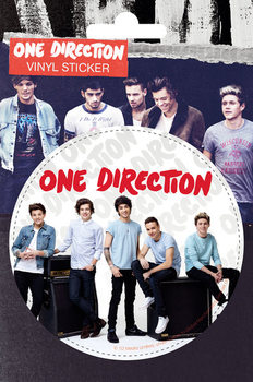 One Direction - Amps pegatina