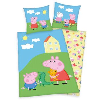 Linge de lit Peppa Pig Cochon