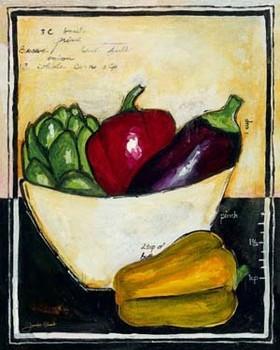 PEPPERS Festmény reprodukció