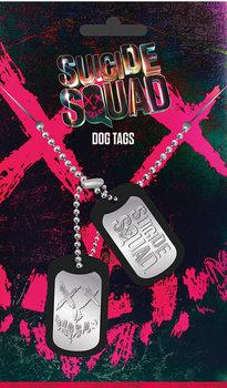 Piastrine Identificative Suicide Squad - Logo