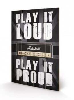 MARSHALL - play it loud Pictură pe lemn