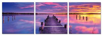 Cuadro Pier at sunrise