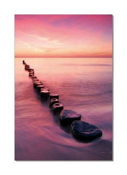 Pier from stones Moderne billede