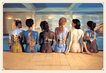 PINK FLOYD - back catalogue 3D - плакат (poster)
