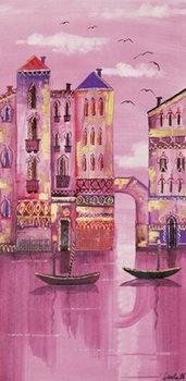 Pink Venice Festmény reprodukció